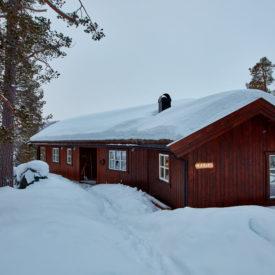 Bilde av ytterkledning fra Skjåk Trelast