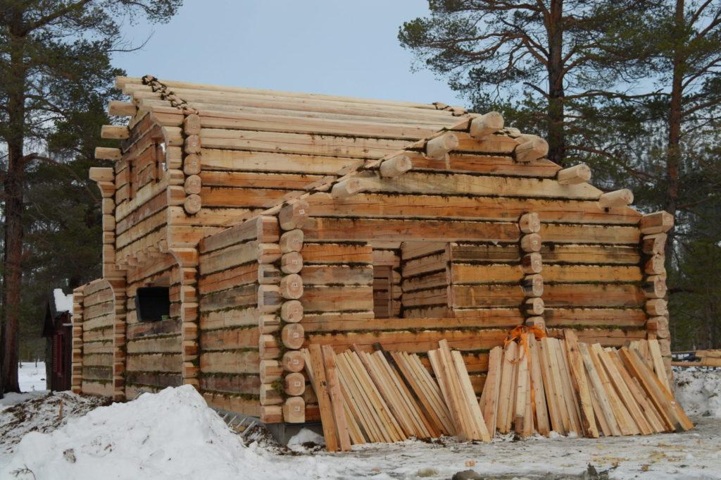 laftetømmer fra Skjåk Trelast AS