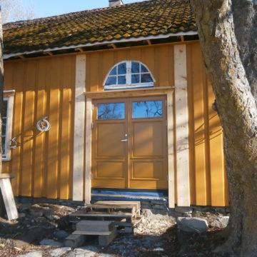 Restaurering av gammel lensmannsgård