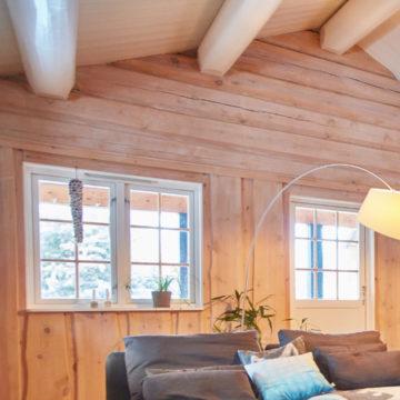 lateftømmer brukt i hus
